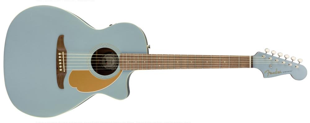 Fender Newporter Ice Satin Blue