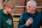 Ed Sheeran and George Lowden