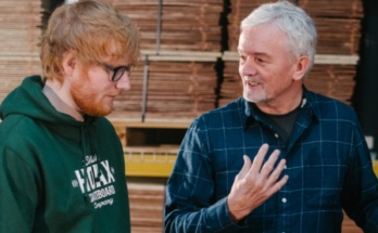 Ed Sheeran and George Lowden