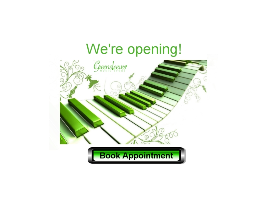 Greensleeves Appointment banner