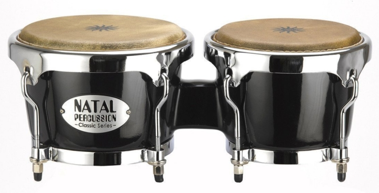 Natal Classic Bongos Black - NCSB02B