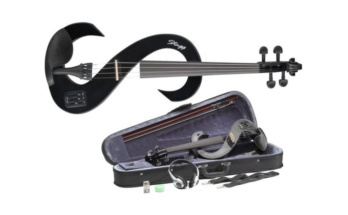 Stagg EVN Electric Violin Outfit – Black