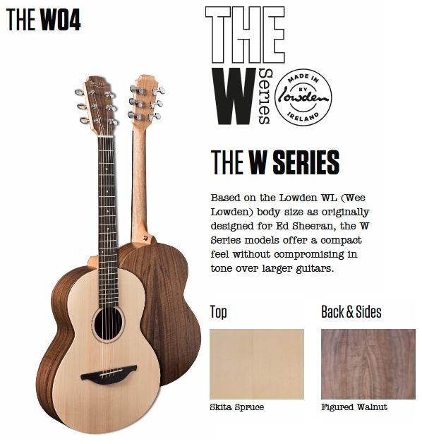 Sheeran by Lowden - W Series W04